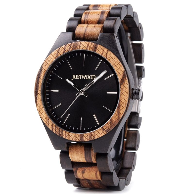 Apollo mens wooden watch