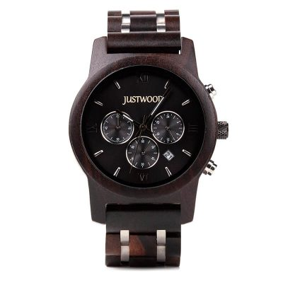 Vogue Hercules wooden watch JUSTWOOD