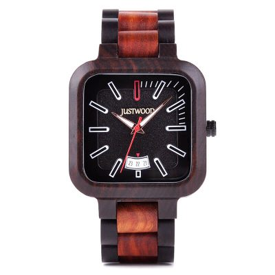 Fossil wooden watch JUSTWOOD
