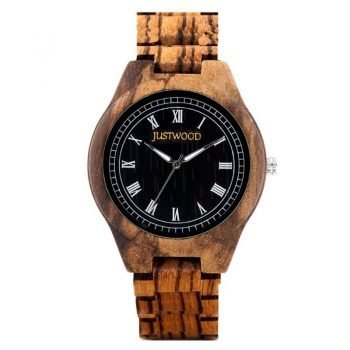 Genius-Zebra-JUSTWOOD-Wooden-Watch