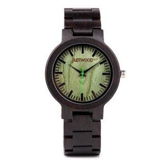 Augusta Green wooden watch