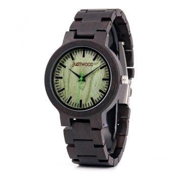 Augusta-Green-wooden-watch-JUSTWOOD-Side