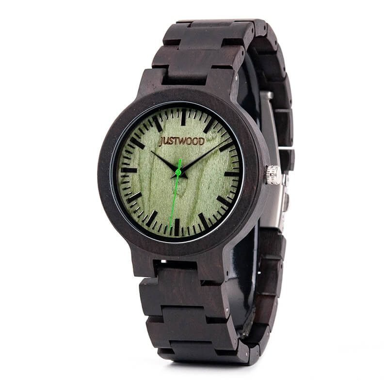 Augusta-Green-wooden-watch-JUSTWOOD-Side