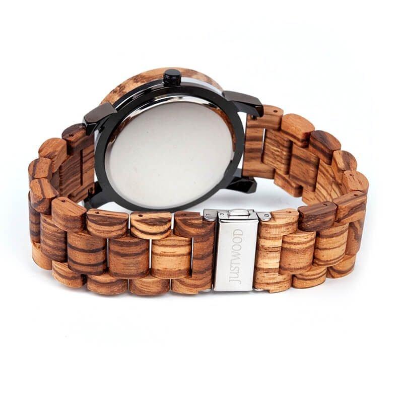 Kingsmen-Zebra-wooden-watch-JUSTWOOD-Back