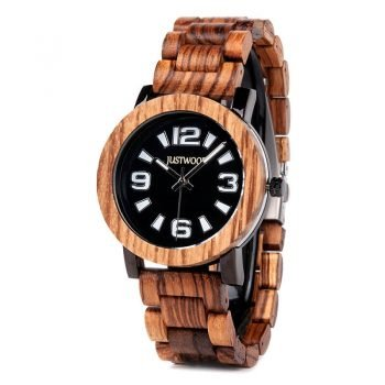 Kingsmen-Zebra-wooden-watch-JUSTWOOD-Side