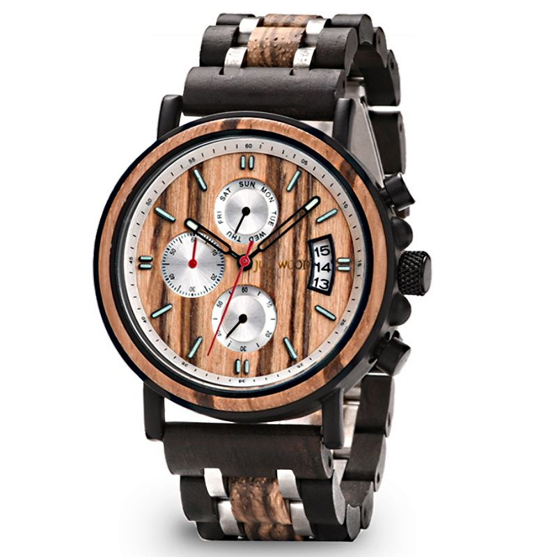 Fitzroy Wooden Watch