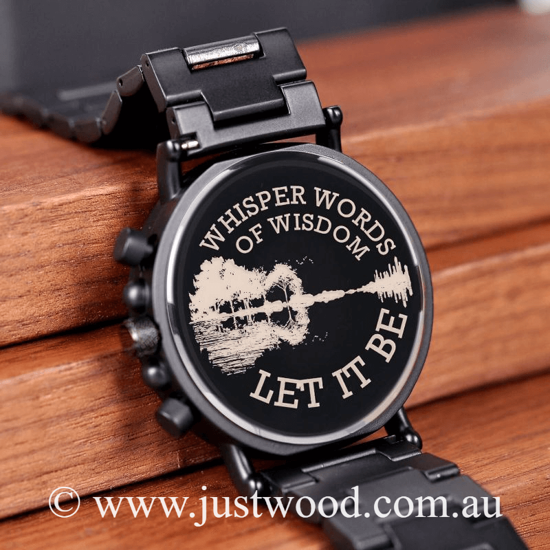 027 Engraved Mens Watch