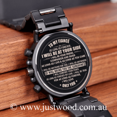 029 Engraved Mens Watch