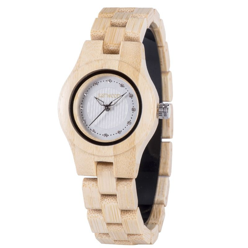 Dawn Ladies Bamboo Watch