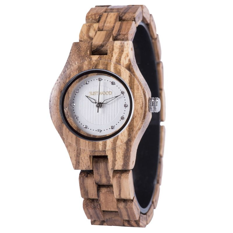 Delta Ladies Wooden Watch