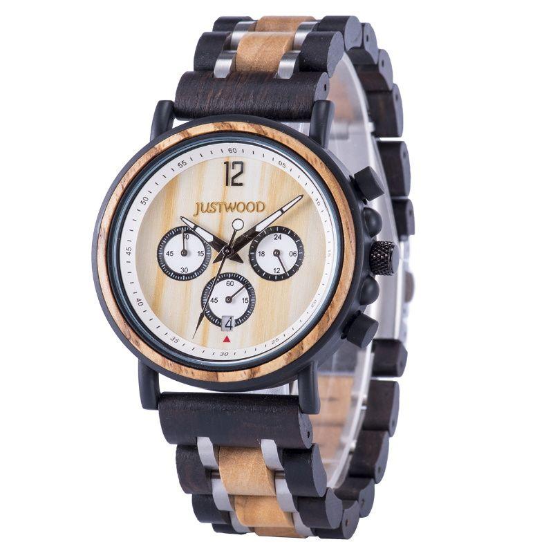 Dampier Wooden Watch