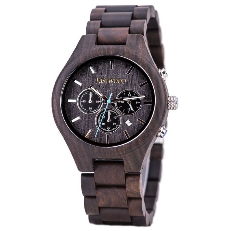 atlantis wooden watch